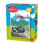 King-Puzzle-05775-A Funny Vehicles