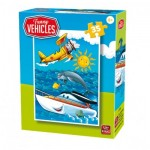 King-Puzzle-05775-B Funny Vehicles