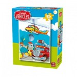 King-Puzzle-05775-F Funny Vehicles