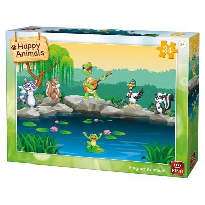 King-Puzzle-05782 Singing Animals