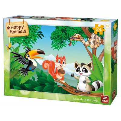 King-Puzzle-05783 Animals in the Tree