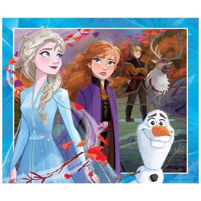 King-Puzzle-55824 Puzzle Géant - La Reine des Neiges
