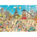 King-Puzzle-55843 Comic Collection - Paris