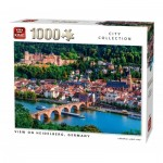 King-Puzzle-55850 View of Heidelberg Germany