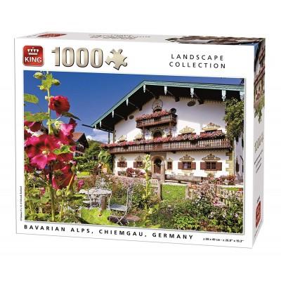 King-Puzzle-55854 Bavarian Alps Chiemgau