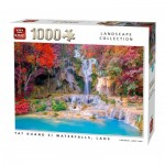 King-Puzzle-55857 Tat Kuang Si Waterfalls Laos
