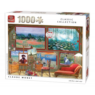 King-Puzzle-55864 Claude Monet