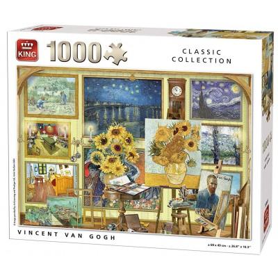 King-Puzzle-55865 Vincent Van Gogh - Collage