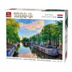King-Puzzle-55867 Prinsengracht Canal Amsterdam