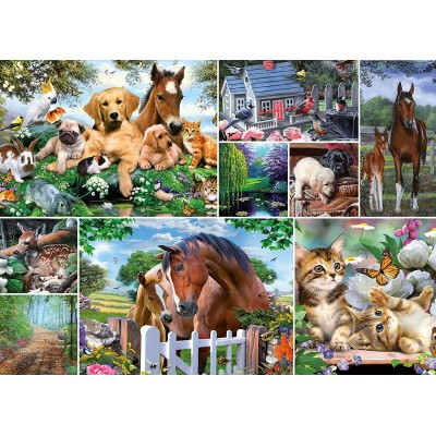 King-Puzzle-55871 Collage - Animal World