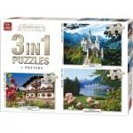King-Puzzle-55875 3 Puzzles - Landscape Collection