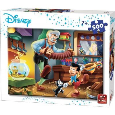 King-Puzzle-55915 Disney - Pinocchio
