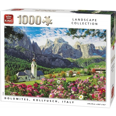 King-Puzzle-55940 Dolomites, Kollfusch, Italy