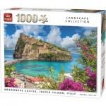 King-Puzzle-55948 Argonese Castle, Ischia Island, Italy