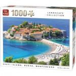 King-Puzzle-55950 Sveti Island, Budva, Montenegro