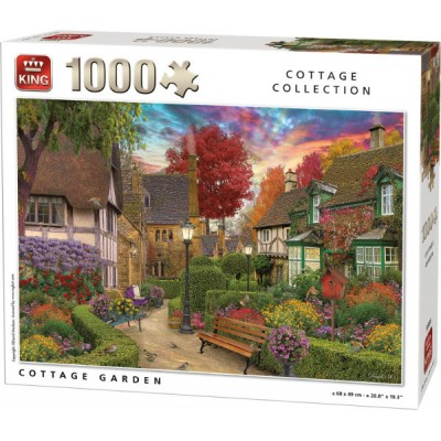 King-Puzzle-55955 Cottage Garden