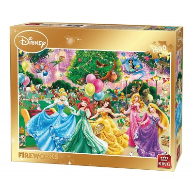 King-Puzzle-85522 Disney - Fireworks