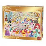 King-Puzzle-85523 Disney - Happy Birthday
