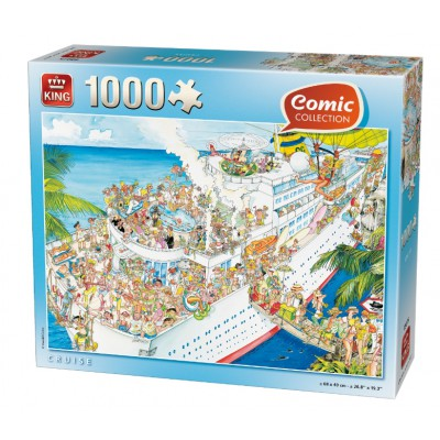 King-Puzzle-K05075 Comic Collection - Cruise
