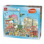 King-Puzzle-K05082 Comic Collection - Piccadilly Circus