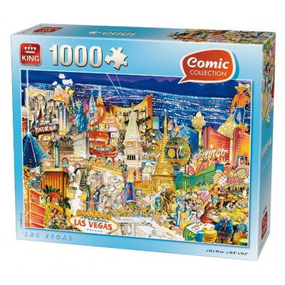 King-Puzzle-k05201 Comic Collection - Las Vegas