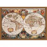 KS-Games-11204 Carte du Monde au 17ème Siècle