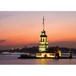 KS-Games-11287 Turquie, Istanbul : La Tour de Léandre Illuminée