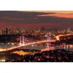 KS-Games-11288 Turquie, Istanbul : Le Pont du Bosphore Illuminé