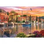 KS-Games-11308 Dominic Davison : Coucher de Soleil sur le Port