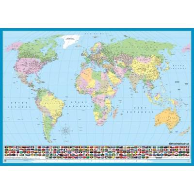 KS-Games-11332 Carte du Monde (en Turc)