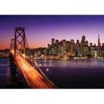 KS-Games-11376 Brigitte Peyton: San Francisco Bridge at Sunset