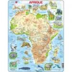 Larsen-A22-FR Puzzle Cadre - Afrique (en Français)