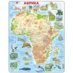 Larsen-A22-RU Puzzle Cadre - Afrique (en Russe)