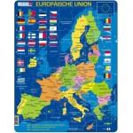 Larsen-A39-DE Puzzle Cadre - Europäische Union (en Allemand)