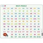 Larsen-AR1 Puzzle Cadre - Apprendre à Compter : Les Multiplications