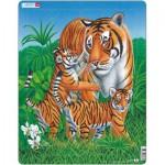 Larsen-D6 Puzzle Cadre - Le Tigre
