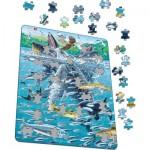 Larsen-FH47 Puzzle Cadre - Baleine à Bosses