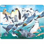 Larsen-FH7 Puzzle Cadre - Les Pingouins