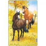 Larsen-H15-2 Puzzle Cadre - Chevaux