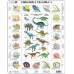 Larsen-HL9-FR Puzzle Cadre - Dinosaures