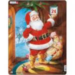 Larsen-JUL1 Puzzle Cadre - Le Père Noël