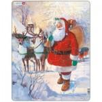 Larsen-JUL8 Puzzle Cadre - Père Noël