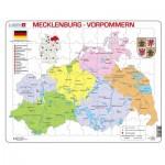 Larsen-K29-DE Puzzle Cadre - Mecklenburg-Vorpommern