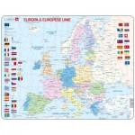 Larsen-K63-NL Puzzle Cadre - Europa & Europese Unie (en Hollandais)