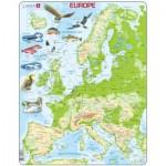 Larsen-K70-GB Puzzle Cadre - Europe (en Anglais)