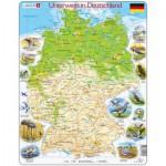 Larsen-K72-DE Puzzle Cadre - Voyage en Allemagne (en Allemand)