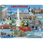Larsen-KH11-NL Puzzle Cadre - Souvenirs d'Amsterdam