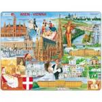 Larsen-KH13 Puzzle Cadre - Souvenirs de Vienne