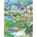 Larsen-KH8-DE Puzzle Cadre - Souvenirs du Rhin (en Allemand)
