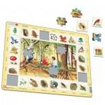 Larsen-NA4-FR Puzzle Cadre - La Forêt